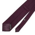 Unlined grenadine tie with hand rolled edges.jpg