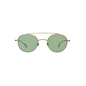 Okulary TBDE Drill Brass // Bottle Green