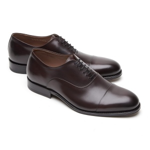 BUTY OXFORD CAP-TOE OXBLOOD