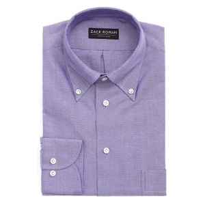 KOSZULA FIOLETOWA OCBD OXFORD CLOTH BUTTON DOWN