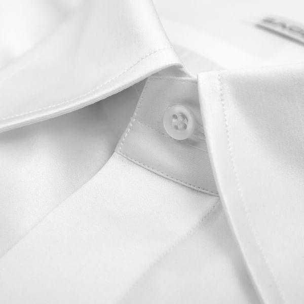 a7a03dcc485e9b Biała koszula do muchy męska, kołnierzyk do muchy, biała koszula ...